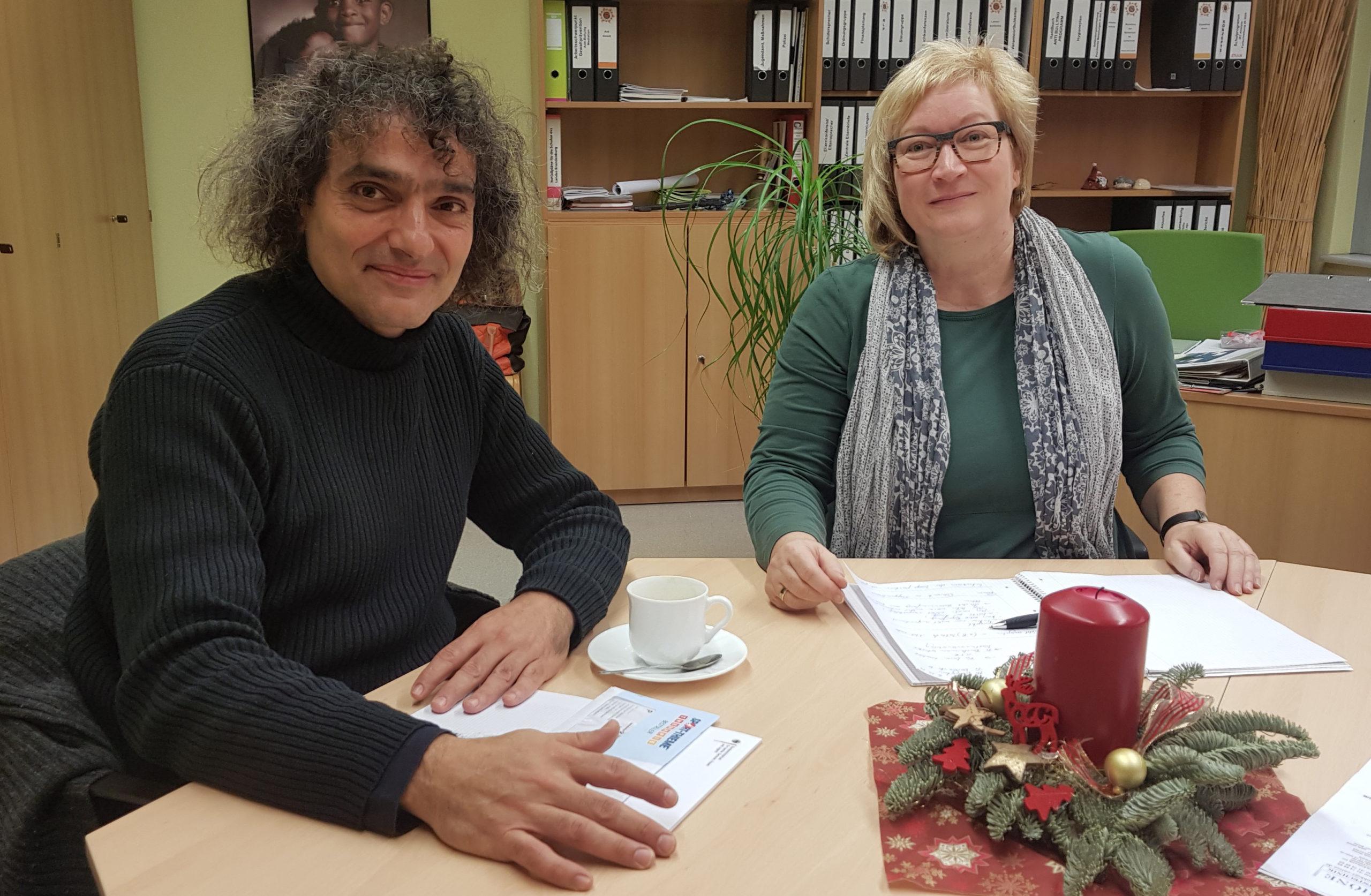 Interview mit Schulleiterin Antje Burmeister